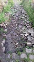 Improvement as cobbles are moved to the sides