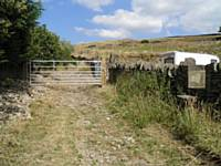 New bridleway gate to discourage illegal off-roaders