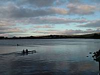 Rowers at Dawn on Hollingworth Lake