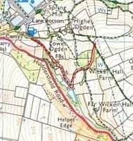 Wickenhall Ride - Marked Route for Upgrade