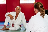 Brian Jacks visits Rochdale Judo Club 2018