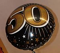 50th Balloon