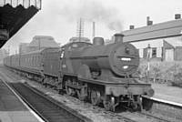 Photo 4. LMS class 2P 4-4-0 number 40684 entering Castleton station on 9 September 1959. RS Greenwood