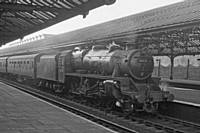 Photo R3 44767 on the 12:30 Liverpool Express to Bradford and Leeds.  Express to Rochdale then semi fast, 11th January 1960.  RS Greenwood