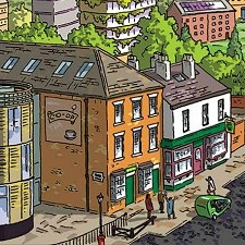The Pioneer's Museum on Toad Lane as depicted in the graphic novel