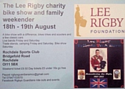 The Lee Rigby charity bike show and family weekender