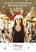 12 Day Christmas Gym & Spa Membership for £25