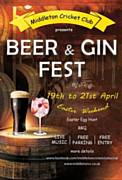 Easter Weekend Beer & Gin Fest