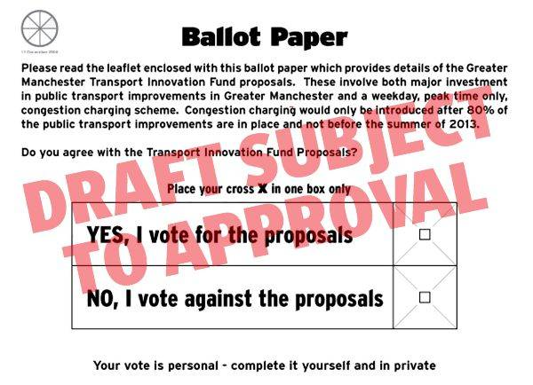 The 'Yes' Campaign leaflet said that they would help if people requested assistance filling in their ballot paper.