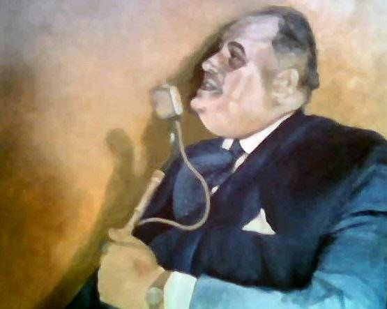 The portrait of Sir Cyril Smith