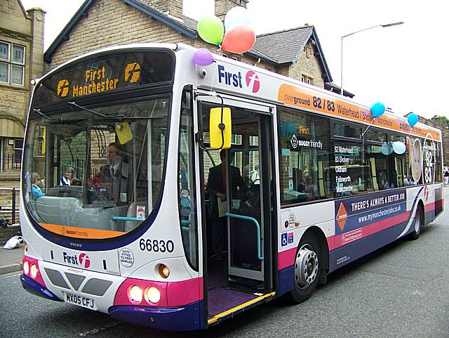 First buses have increased their fares by 8%