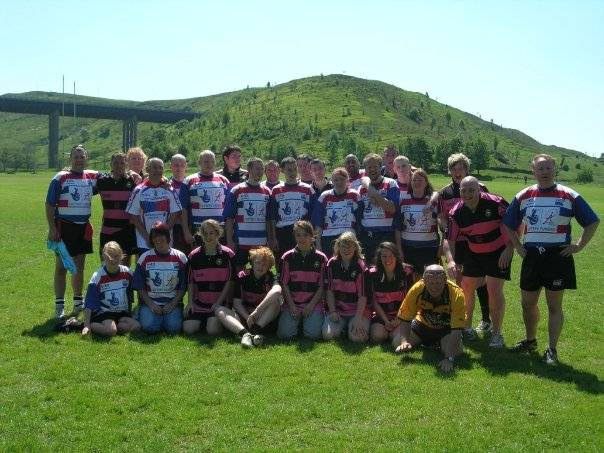 The Celtic Barbarians and the Rochdale Swarm teams.