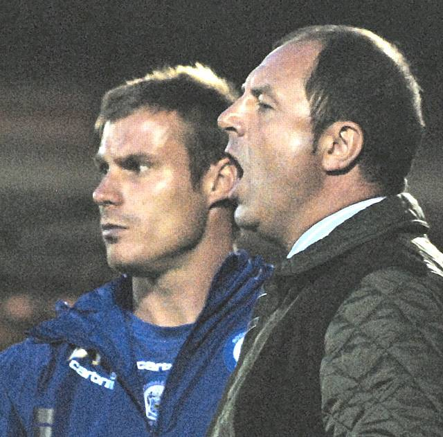 Dale boss Keith Hill (right) has been shortlisted for the October manager of the month award.