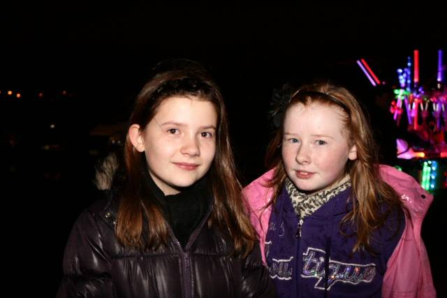 Middleton bonfire and firework display