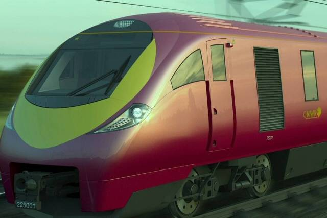 An example of the 'Polaris' train which will be used if the proposals are passed