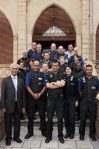 The officers who took part in the course alongside Ghulam Rasul Shazad