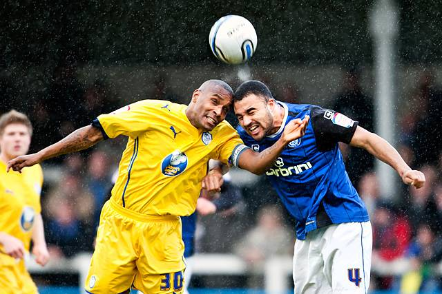 Rochdale 2 - 1 Sheffield Wednesday<br />Clinton Morrison and Marcus Holness