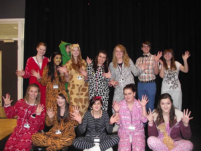 Rochdale Sixth Form College fundraising event in aid of Children in Need