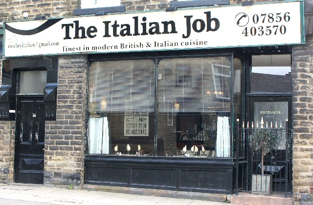 The Italian Job, Huddersfield Road, Newhey