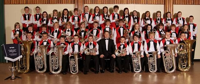 Wardle High Youth Band