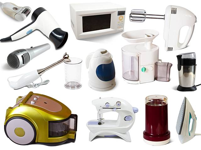 Examples of small Waste Electrical and Electronic Equipment (WEEE) that can be recycled during Recycle Week 18-24 June