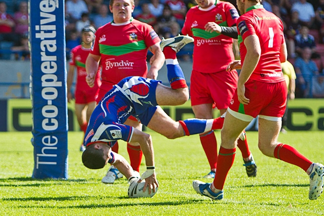 Rochdale Hornets 34 - 6 North Wales Crusaders
