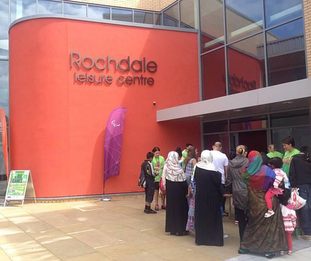 Rochdale News News Headlines Olympic Enthusiasm Boosts