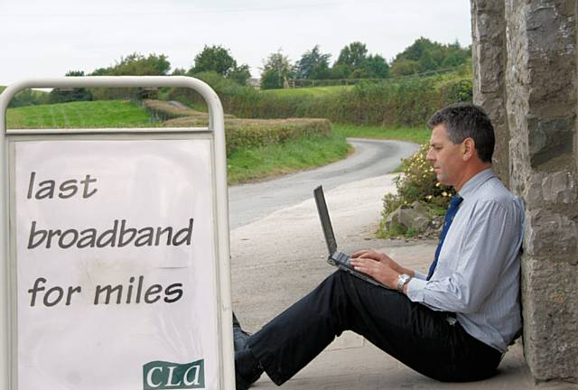 CLA campaigning for broadband in all rural areas