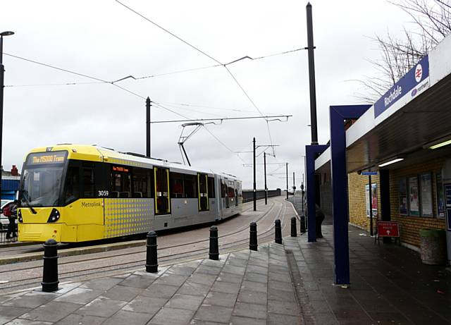 Metrolink services to Rochdale will open to passengers for the first time on Thursday 28 February