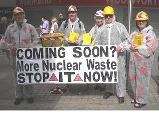 Rochdale and Littleborough Peace Group - Nuclear Waste - Stop It Now