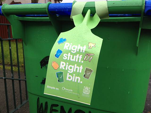 Right Stuff Right Bin campaign