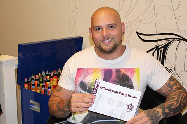 Rochdale news business news ink 39 d tattoo studio sets for Standard ink tattoo company