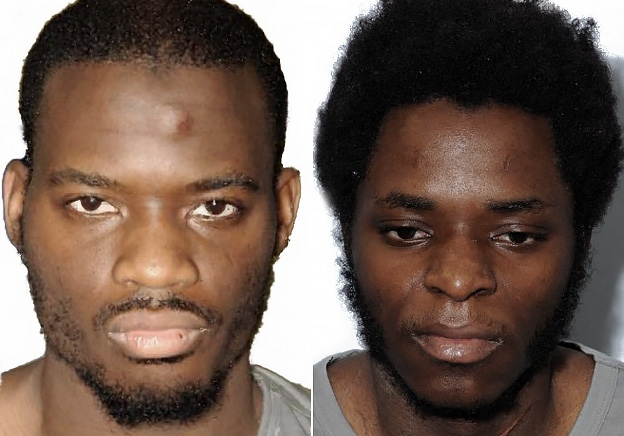 Michael Adebowale (right) is seriously ill with Covid-19, pictured alongside Michael Adebolajo