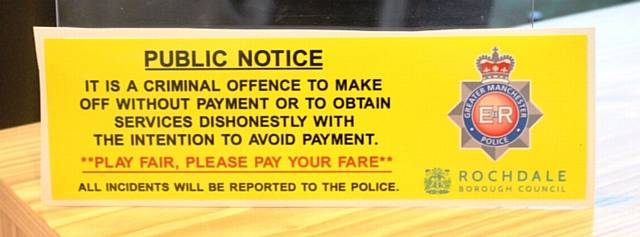 The sticker that drivers will be displaying
