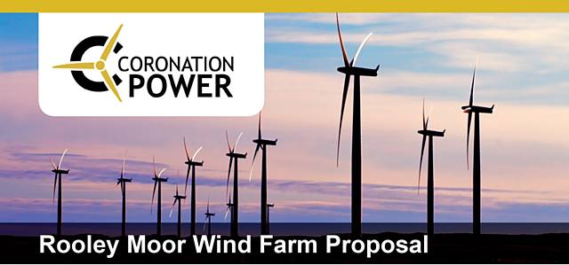 Coronation Power plans a wind farm on Rooley Moor