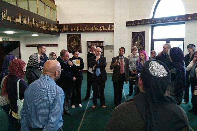 Multi-agency visit to the Central Mosque Rochdale, facilitated by BME Health Matters
