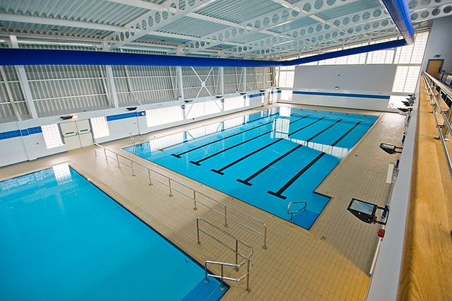 Swimming pools at Heywood Sports Village, which is operated by Link4Life