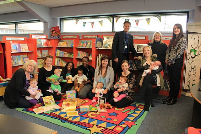 Babies born at North Manchester General can now be registered at Langley Library/Children's Centre or Heywood Library