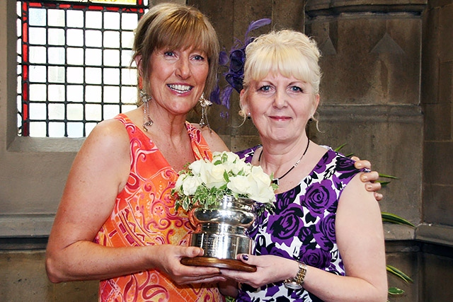 Joy Whitworth and Wendy Mills - Woman of Rochdale joint winners