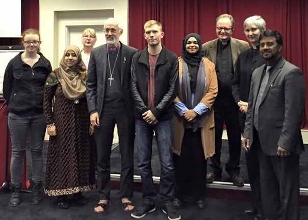 Bishop of Manchester, David Walker meets local community workers