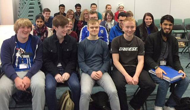 Rochdale News | News Headlines | Maths students learn the formula to