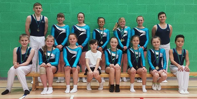 Medal success for Middleton Trampolining Club