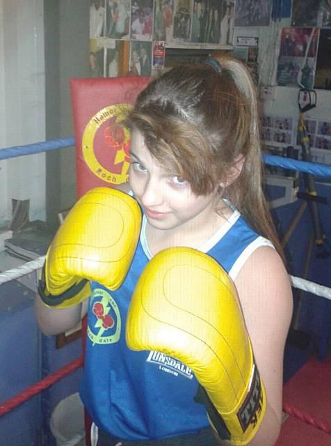 Amateur boxing girls