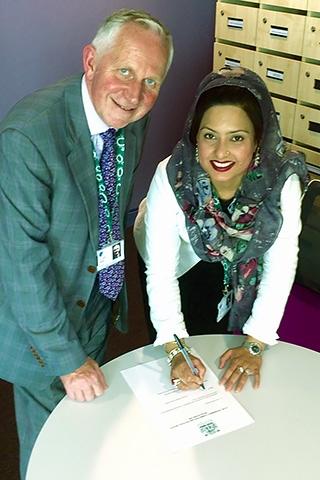 Councillor Ashley Dearnley and Councillor Shefali Ahmed