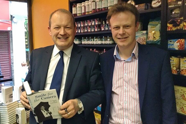 Matt Baker with Simon Danczuk