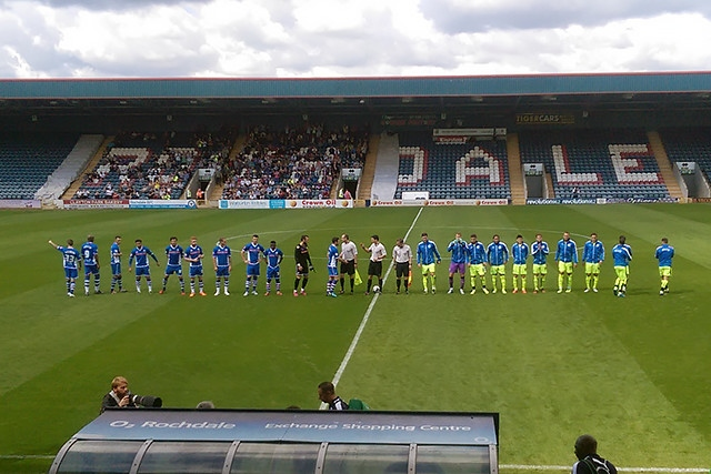 Rochdale v Huddersfield Town (photo from a friendly in 2015)