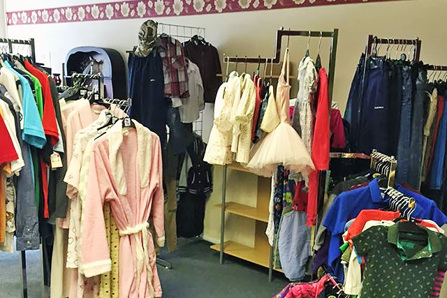 Friends of Parent Carers charity shop