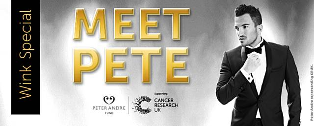 peter andre meet and greet tickets manchester