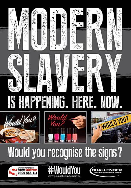 Regional crackdown on modern slavery and human trafficking