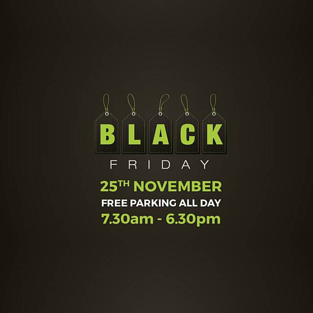 Rochdale Exchange Shopping Centre is gearing up for the best Black Friday to date by offering free parking all day